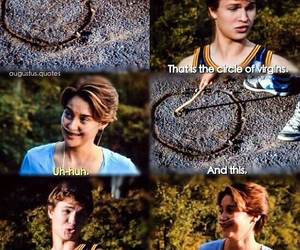 movie, okay?, and the fault in our stars image