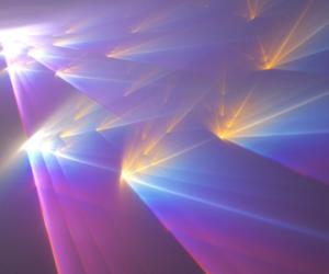 light, grunge, and rainbow image