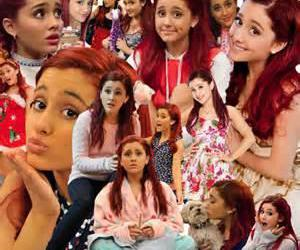 cat, Collage, and ariana image