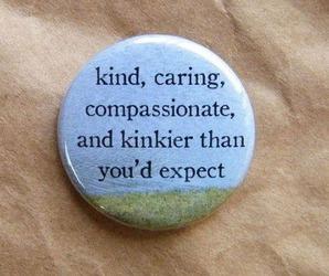 art, badge, and caring image