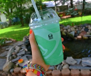 taco bell, drink, and food image