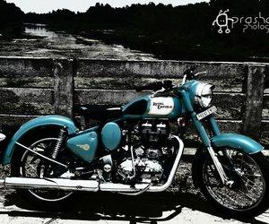 classic, motorbike, and bike image