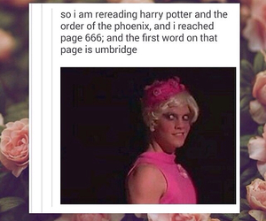 first, harry potter, and umbridge image