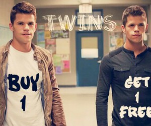 teen wolf, twins, and max carver image