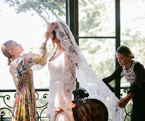 wedding, bride, and ashley olsen image