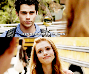 lydia, teenagers, and teen wolf image