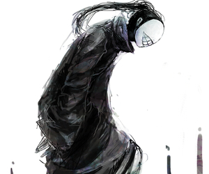 tokyo ghoul, anime, and horror image