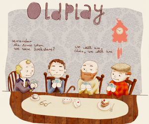coldplay and old image