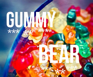 bear, chewy, and gummy image