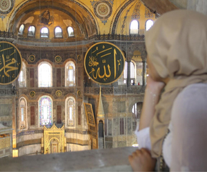 allah, girl, and istanbul image