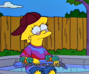the simpsons, lisa, and simpsons image