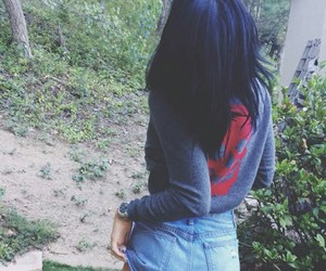 girl, street style, and grunge image