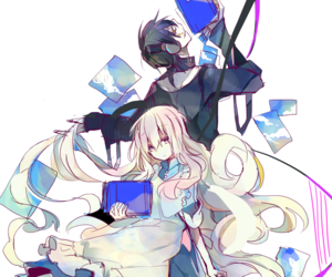 kagerou project, kuroha, and mekaku city actors image