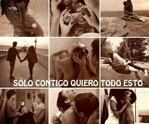amor, Besos, and couples image