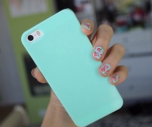case, iphone, and nails image