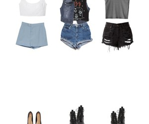 denim, Polyvore, and kiss image