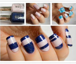 diy, hand made, and manicure image