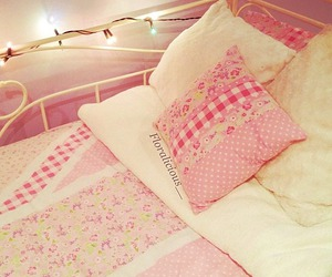 bed, rosy, and bubblegum image