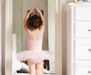 ballet, baby, and pink image