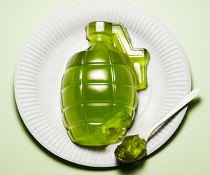Grenade, green, and jelly image