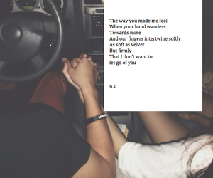 crush, hold hands, and poem image