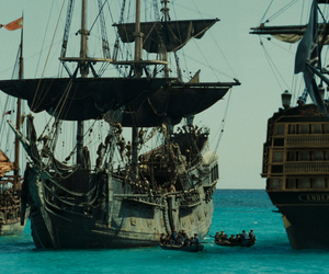 fairytale, pirate, and ships image