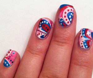 4th of july, nail arts, and nail designs image