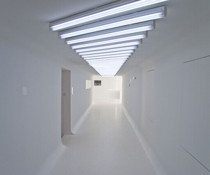 hallway, white, and tumblr image