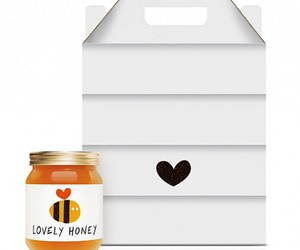 design, honey, and heart image