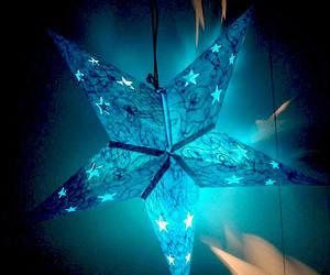 beautiful, falling stars, and inspiring image