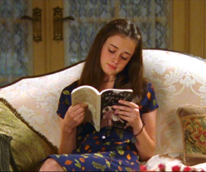 book, gilmore girls, and reading image