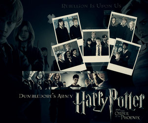 dumbledore's army and harry potter image