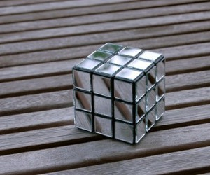 mirror, rubik, and photography image