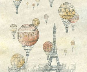 balloons and paris image