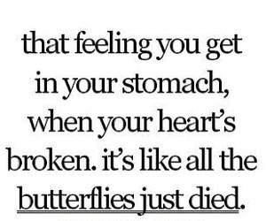 sad, heart, and broken image