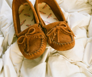 shoes, brown, and fashion image