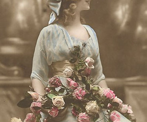 flowers, roses, and victorian image