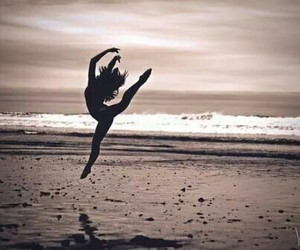 ballet, dance, and sea image