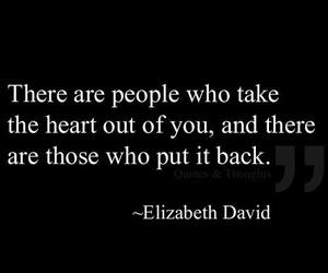 heart, quote, and people image