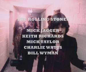 the rolling stones, mick jagger, and rolling stones image