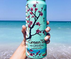 summer, arizona, and green tea image