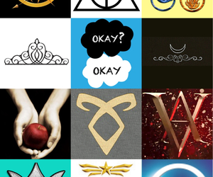 hunger games, the mortal instruments, and vampire academy image