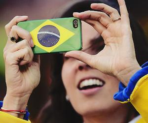 brazil, brazil flag, and telephone image