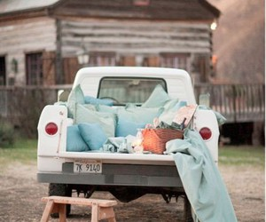car, romantic, and vintage image