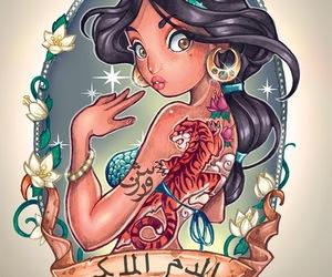 disney, jasmine, and princess image