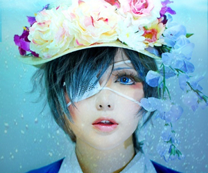 cosplay, ciel phantomhive, and black butler image
