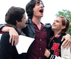emma watson, charlie, and Sam image