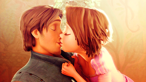 tangled, love, and kiss image