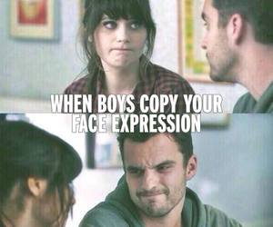 boy, funny, and expression image