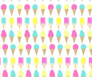 ice cream, iphone, and screen image